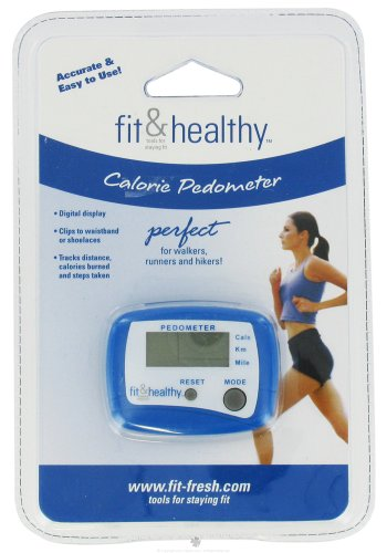 Cheap Fit & Fresh – Fit & Healthy Calorie Pedometer – formerly by Vitaminder (B005P0JTJS)