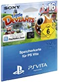 Speicherkarte Sony PS Vita (16 GB) Memory Card inklusive Little Deviants Gutschein zum Download