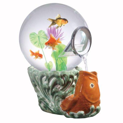 Magic Globe Koi Goldfish Aquarium, 5-Gallon