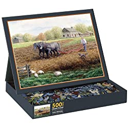 Land Provides 500 Piece Jigsaw Puzzle