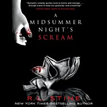 A Midsummer Night's Scream Audiobook by R.L. Stine Narrated by Brittany Pressley