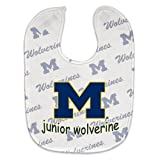 NCAA College Full Color Mesh Baby Bibs (Michigan Wolverines) at Amazon.com