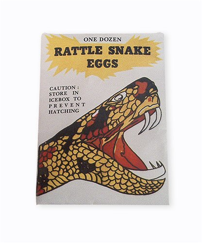 Rattle Snake Eggs Novelty Toy - 1