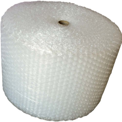 """1/2"""" X 50' Ft. X 12"""" BUBBLE ROLL CUSHIONING WRAP *LARGE BUBBLES* VOID FILL (1 Roll (50 fT))"""