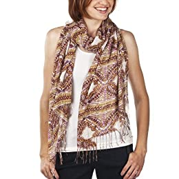 Product Image Women's Merona® Floral Scarf - White