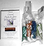 Oriental Florals & Spices Variety Pack of Cone Shape Incense (Sandalwood, Wild Jasmine, Oriental Woods, Opulent Opium) - 2pks of 20 - 40 Ct