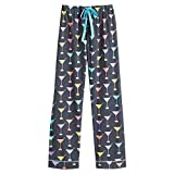 Women's Martini Cotten Flannel Pajama Set