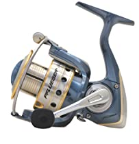 Pflueger President Spinning Reel with 145-Yards per 6-Pounds Line Capacity, 5.2:1 Gear Ratio, Blue