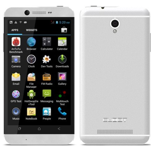 CUBOT ONE - 4.7 Inch HD IPS Screen Quad Core Android 4.2 Smart phone Dual Camera 1GB RAM 8GB GPS 12MP (Silver)... Black Friday & Cyber Monday 2014