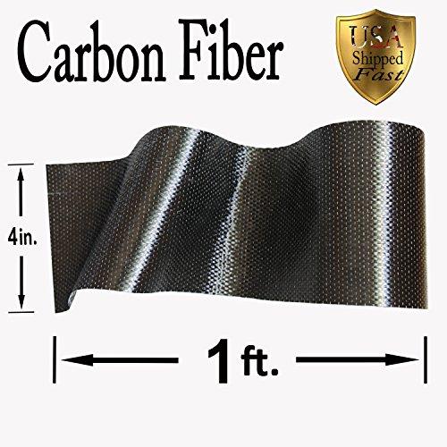 CARBON FIBER - 12K TOW - 1 ft. x 4