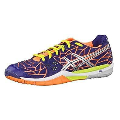 Asics Gel-Fireblast Handball Shoes Navy / Lightnin