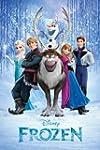 Frozen Disney Movie Cast Poster - 91....