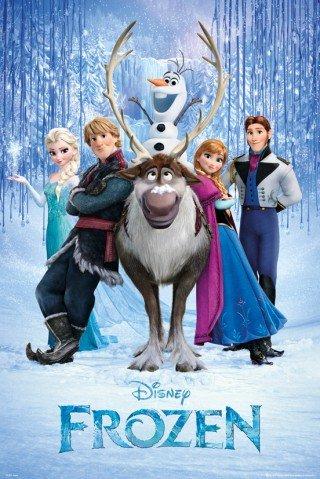 Frozen Cast Movie Poster