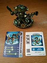 Skylanders SWAP Force Exclusive Metallic Gold Green Color Shift Wash Buckler (Includes Trading Card and Internet Code, no retail packaging)