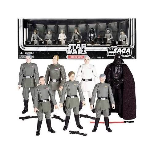 Star Wars Imperial Briefing Room Action Figures Box Set by Kenner/Hasbro Toy Group (English Manual) online kaufen