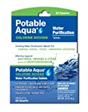 Potable Aqua Chlorine Dioxide Tablets, 20 Tablets