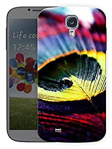 """Humor Gang Colorful Peacock Pattern Printed Designer Mobile Back Cover For """"Samsing Galaxy S4"""" (3D, Matte, Premium Quality Snap On Case)"""