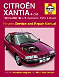Haynes Garage Quality Car Repair Manual/Book For Citroën Xantia Petrol & Diesel (93 - 01) K to Y Including a De-Mister Pad and 1 Car Air Freshner.