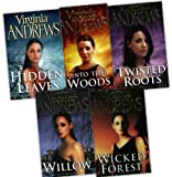 Virginia Andrews Virginia Andrews 5 Books De Beers Family Collection Pack Set (Hidden Leaves , Into the Woods, Twisted Roots, Wicked Forest , Willow)