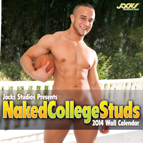 Jocks Studios Naked College Studs 2014 Wall Calendar