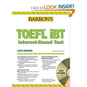 toefl ibt internet-based test 2008 12th edition pdf