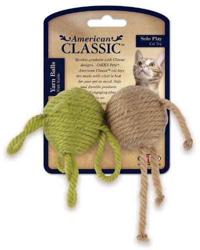 American Classic Yarn Balll With Rattle 2Pk front-210487