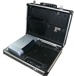 dicota notebook koffer mit hp deskjet 450 drucker elektronik. Black Bedroom Furniture Sets. Home Design Ideas