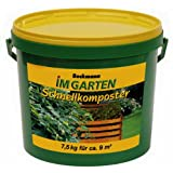 Beckmann im Garten 954707 Schnellkomposter mit Guano 7.5 kg-Eimer
