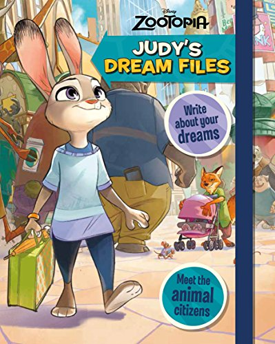 Disney Zootropolis Judy's Dream Files (Book of Secrets)