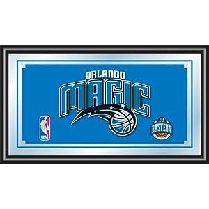 NBA Orlando Magic Logo Framed Mirror by Trademark Global