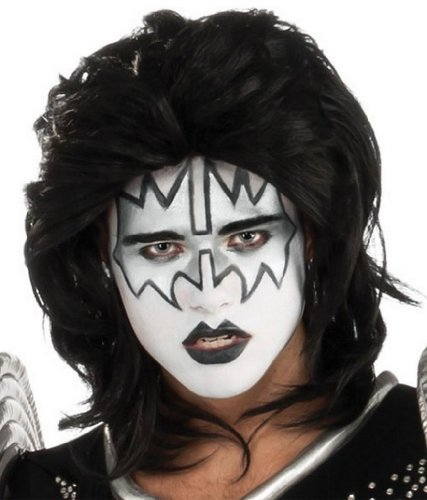 Kiss Costume Wigs Space Ace Kiss Halloween Wig