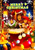 Disney Pixar Toy Story Christmas 3D Lenticular Greeting Card / Disney 3D Postcard