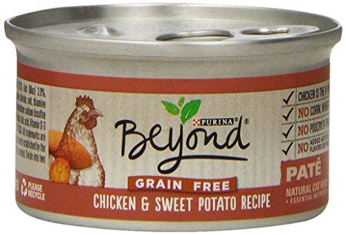 Purina Beyond Paté Grain Free Chicken & Sweet Potato Recipe Wet Cat Food