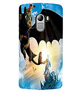 ColourCraft Cartoon Design Back Case Cover for LENOVO A7010