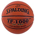 Spalding 64-4969 TF-1000 ZK Pro NFHS Men's Composite Leather Basketball