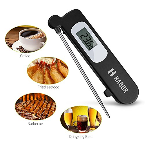 Habor Instant Read Cooking Thermometer High-performing