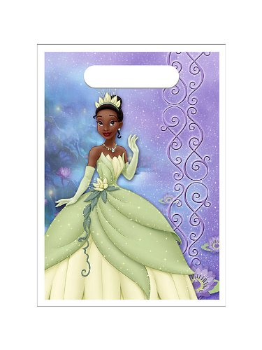 Princess and the Frog Loot Bags 8ct