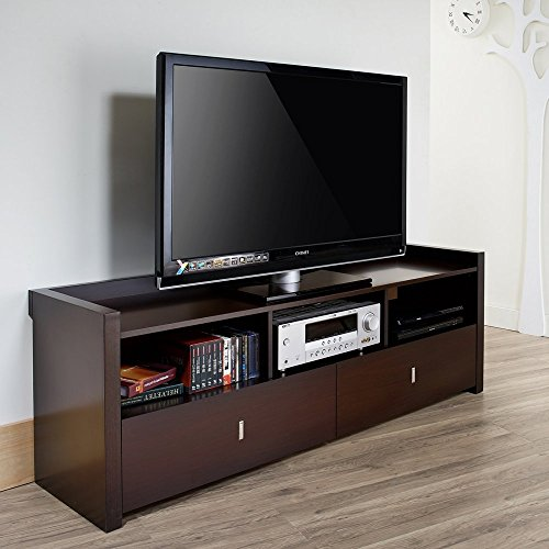 Furniture Of America Furniture Of America Valenciara Entertainment Console, Wood front-700299