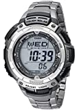 Casio Men's PAW1100T-7V Pathfinder Triple-Sensor Titanium Bracelet Watch