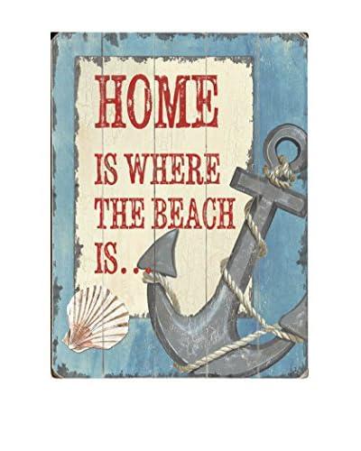 ArteHouse Home Is Where The Beach Is Wood Wall Decor