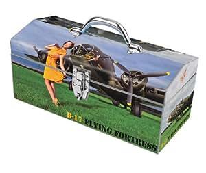 Sainty Art Works 24-069 Memphis Belle Art Deco Tool Box