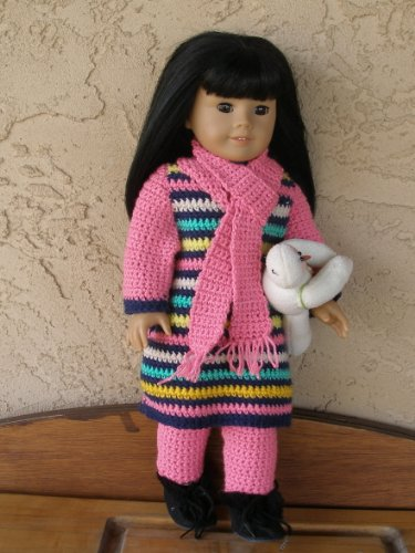 18 Inch Doll Clothes - Simple Spring Vest for Dolly • Oombawka ... | 500x375