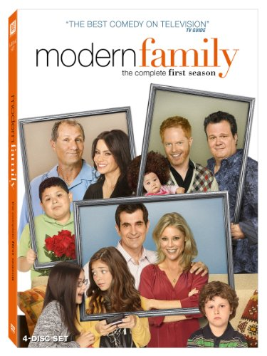 Cover art for  Modern Family: The Complete First Season