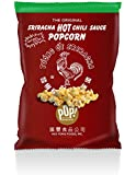 Sriracha Popcorn - Original the Rooster Hot Chili Sauce Popcorn, Free Shipping, 0.75oz Popped (Pack of 36)