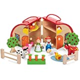 Tobar Wooden Farm Playset