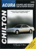 img - for Acura Coupes and Sedans, 1986-93 (Chilton Total Car Care Series Manuals) book / textbook / text book