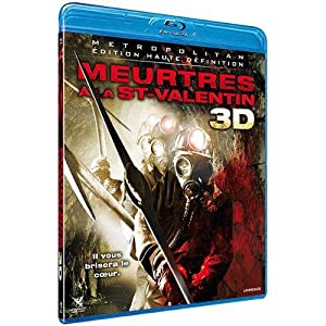 Meurtres à la st valentin - 2D + 3D [Blu-ray] [Version 3-D]