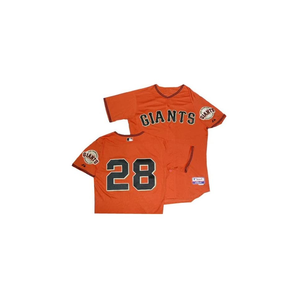 San Francisco Giants Buster Posey Authentic Orange Cool Base Jersey (48 XL)