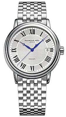 Raymond Weil Maestro Silver Dial SS Automatic Male Watch 2837-ST-00659