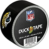 Duck Brand 282370 Jacksonville Jaguars NFL Team Logo Duct Tape, 1.88-Inch by 10 Yards, Single Roll